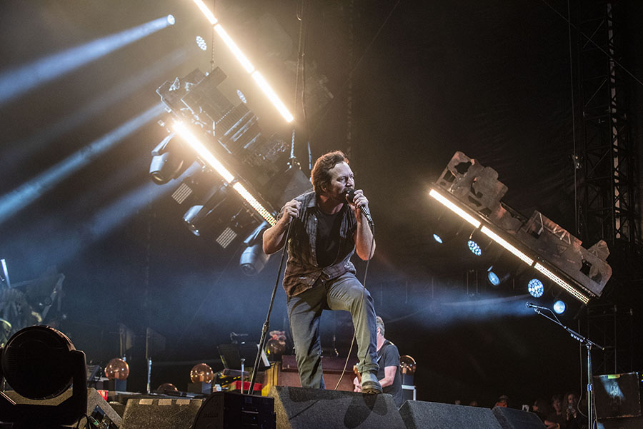 Pearl Jam Concert Setlist at Wrigley Field, Chicago on