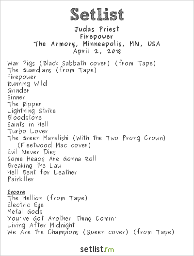 Live Photos: Judas Priest Firepower Tour at The Armory