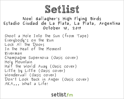 noel gallagher paris 2018 setlist Noel Gallagher Debuts 'Holy Mountain' For The First Time in  noel gallagher paris 2018 setlist