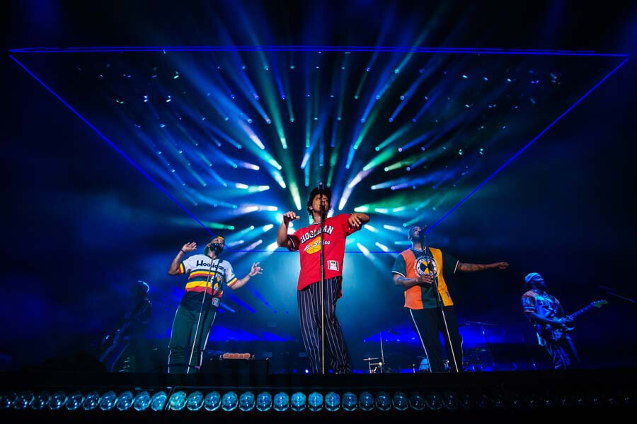 Review: Bruno Mars at Formula 1 United States Grand Prix