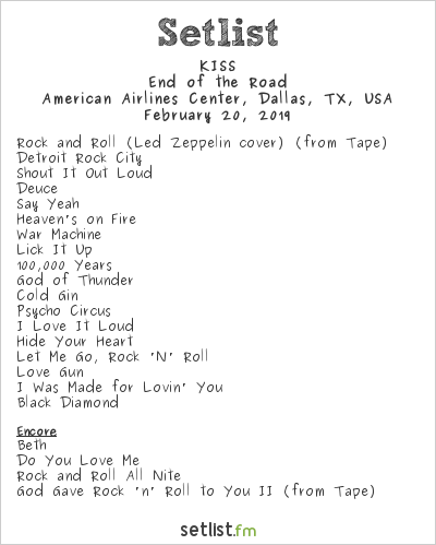 Digging Into the Songs On KISS' End of the Road Tour Setlist