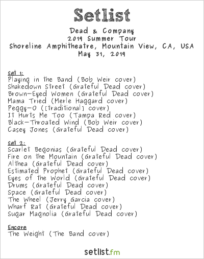 Dead & Company Kickoff Summer 2019 Tour + Live Debut