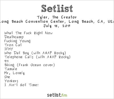 Flower Boy Tour Setlist - Flowers Healthy
