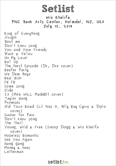 Wiz Khalifa's Decent Exposure Tour Setlist Highlights