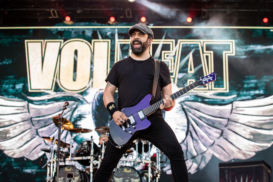 Volbeat Performing New Songs on 2019 Knotfest Roadshow Tour